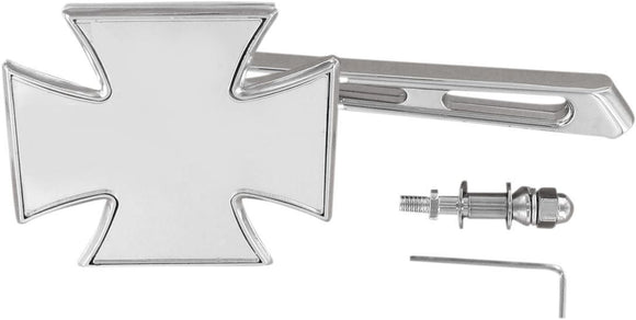 Drag Specialties Mirror Maltese Chrome W/ Air-Glide Stem - Part #19016009 - Hogparts UK