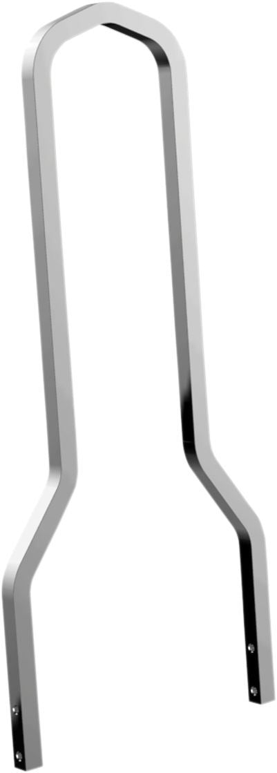 Drag Specialties Bar Sissy Tall Square Chrome - Part #15010515