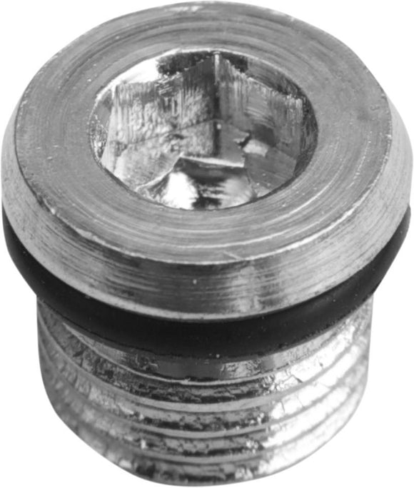 Drag Specialties Magnetic Drain Plug W/ O-Ring 5/16