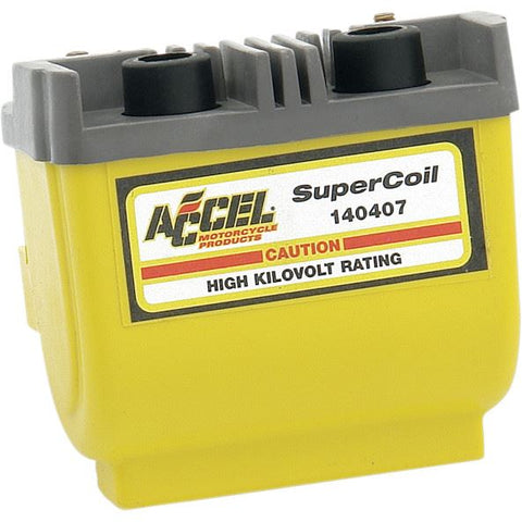 ACCEL SUPER COIL 2.3 OHM DUAL-FIRE FOR ELECTRONIC IGNITION - 140407