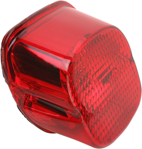 Drag Specialties Taillight Laydown Led Red Lens W/ Bottom Taglight - Part #20100783 - Hogparts UK