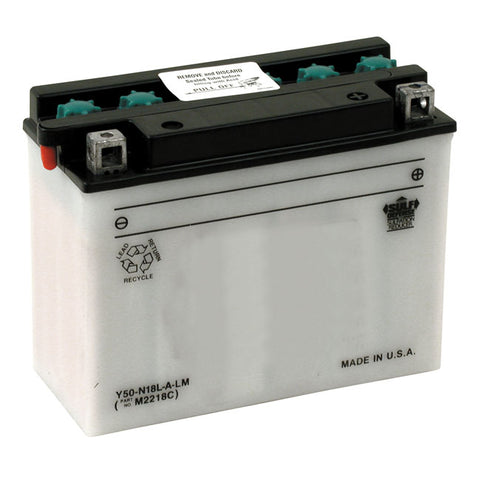 YUASA BATTERY YUMICRON CX, 12V 20A - 80-96 ALL FLT MODELS  REPL. 66010-82A - Part # 901022