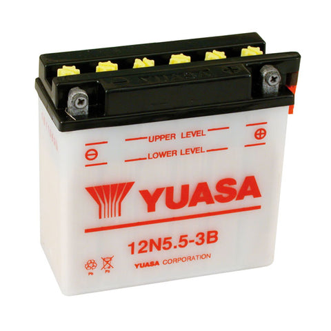 YUASA BATTERY 12V 5.5A - MULTIFIT - Part # 901029