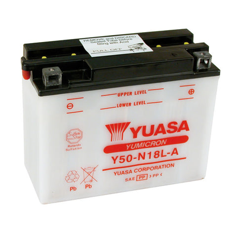 YUASA BATTERY YUMICRON 12V 20A - 80-96 ALL FLT MODELS  - Part # 901034
