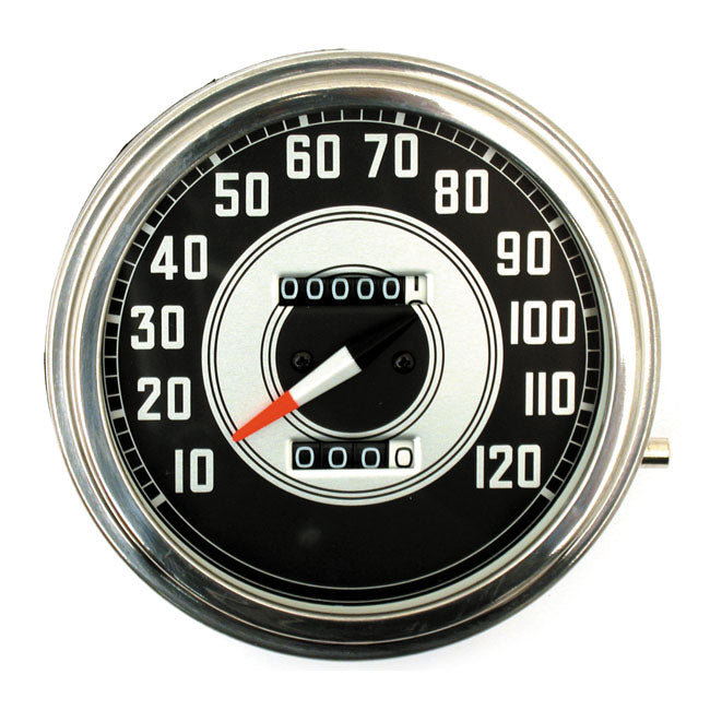 Motorcycle Storehouse FL Speedometer, 41-45 Face (B) #940452