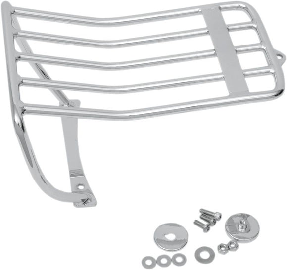 Drag Specialties Bobtail Luggage Rack Chrome - Part #15100092 - Hogparts UK
