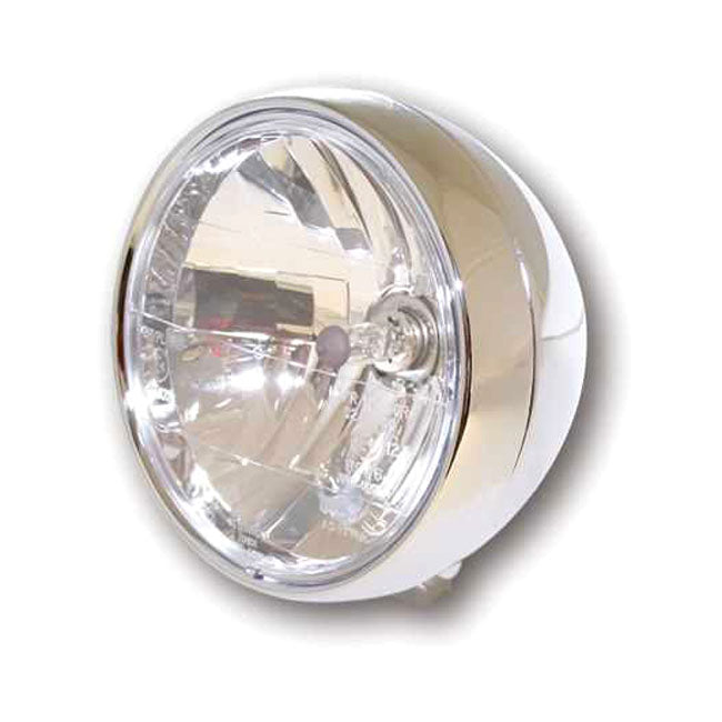 "Motorcycle Storehouse Randall 6-1/2"" H-4 Headlamp #943612"