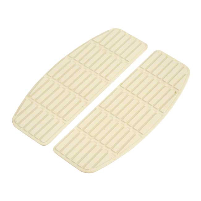 Motorcycle Storehouse Repl Pad, Traditional Shaped Floorboards - 66-90 FL, FLST, FLT/Touring #990523