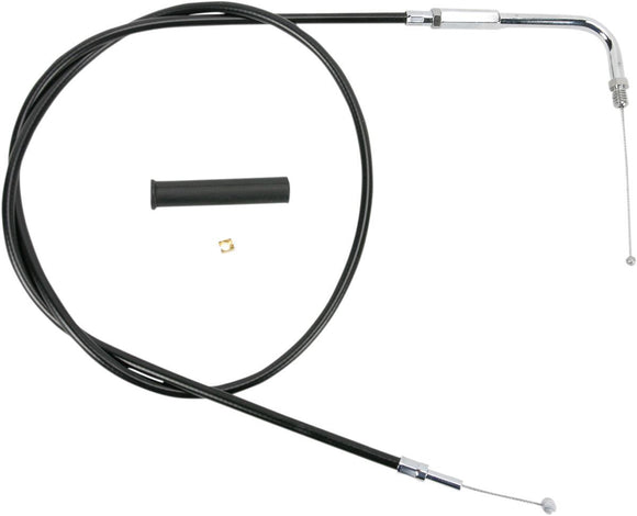 Drag Specialties Throttle Cable Black Vinyl 48