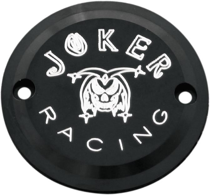Joker Machine 2 Hole Point Cover Horizontal Joker Racing Black <br>Vendor Part # 921102-JRB - hogparts-uk.myshopify.com