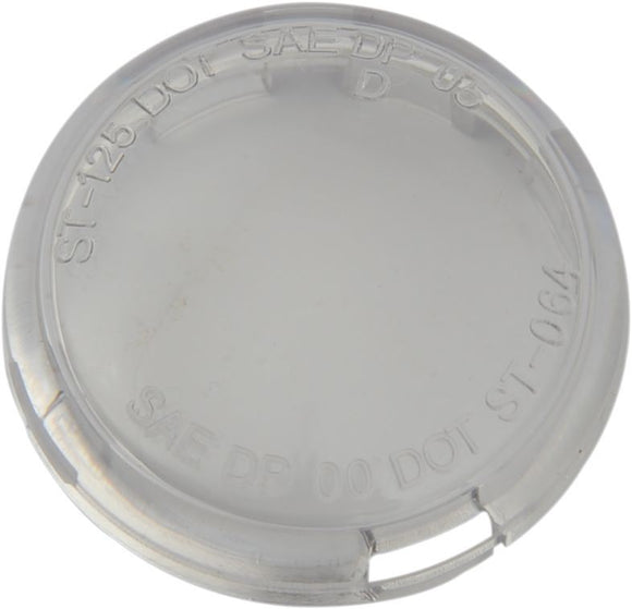 Drag Specialties Replacement Lens Deuce-Style Clear - Part #DS280519 - Hogparts UK
