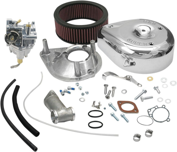 S&S Super E and G Shorty Carburettor Kit - Part #DS0401
