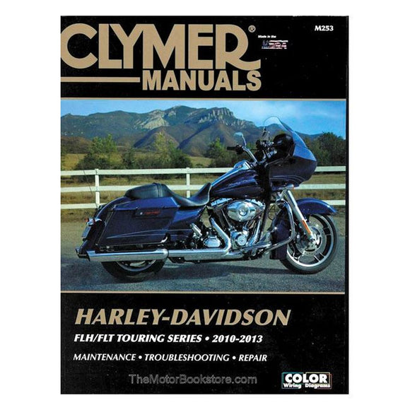 Clymer service manual 10-13 Touring - 10-13 Touring <br><br>Part #574742