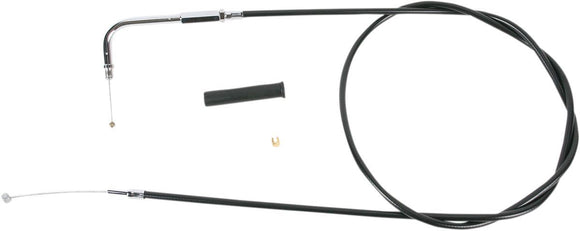Drag Specialties Throttle Cable Black Vinyl 50