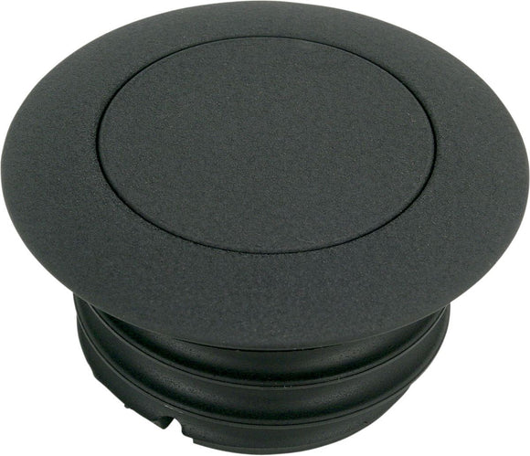 Drag Specialties Pop-Up Gas Cap Non-Vented Black - Part #07030327 - Hogparts UK
