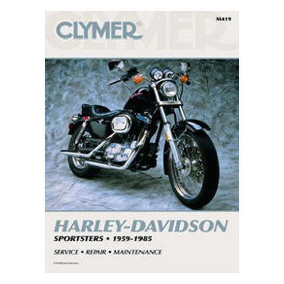 CLYMER SERVICE MANUAL 59-85 XL - 59-85 Sportster <br><br>Part #517501