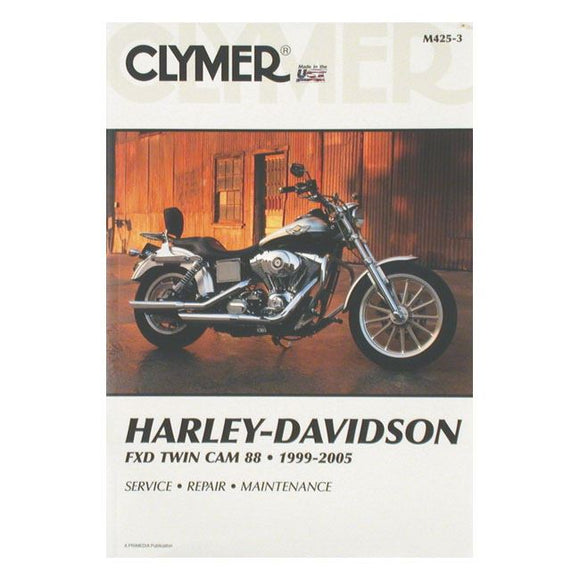 CLYMER SERVICE MANUAL 99-05 DYNA - 99-05 Dyna Twin Cam <br><br>Part #517677