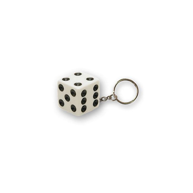 TRIKTOPZ DICE KEY CHAIN WHITE - <br><br>Part #555524 - hogparts-uk.myshopify.com