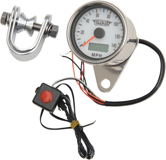 Drag Specialties Electronic Speedometer 2.4