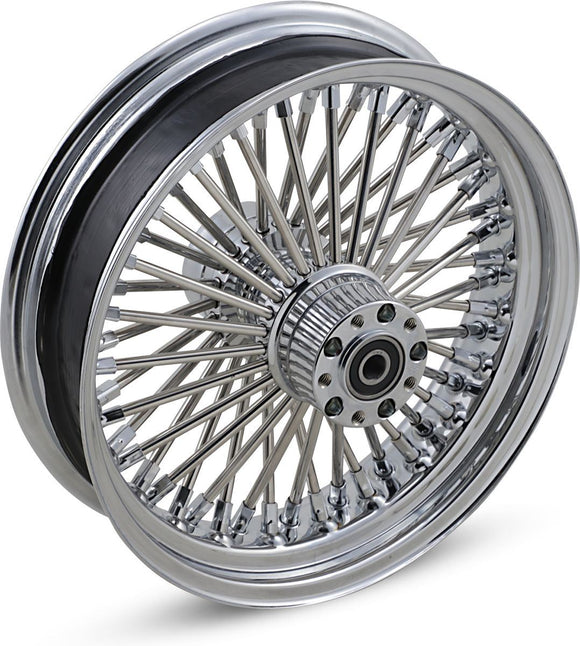 Drag Specialties Fat Daddy Rear Wheel 16X3.5 Chrome - Part #02040255 - Hogparts UK