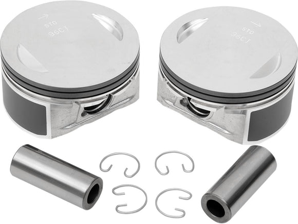 Drag Specialties Replacement Piston Kit 96 Twin Cam Bore + 0.010