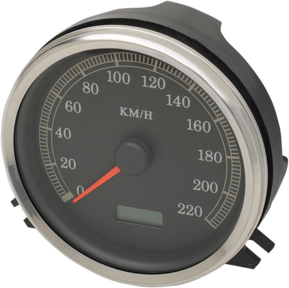 Drag Specialties Electronic Speedometer KMH - Part #22100344 - Hogparts UK
