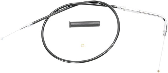 Drag Specialties Throttle Cable Black Vinyl 35