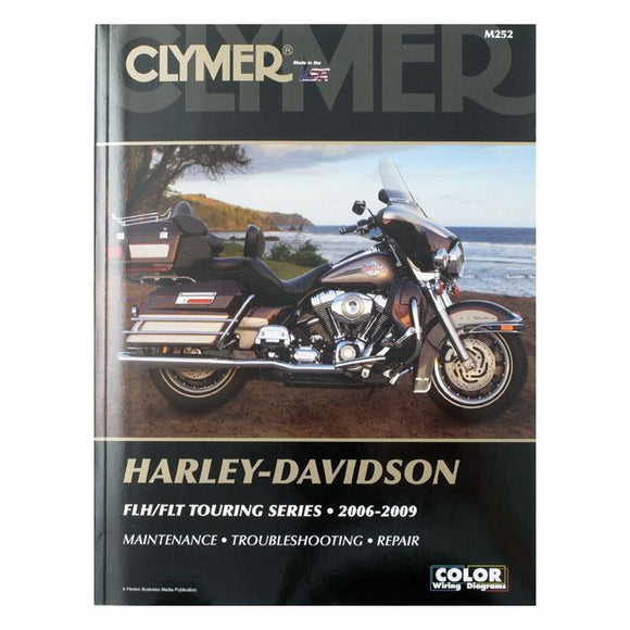 CLYMER SERVICE MANUAL 06-09 TOURING - 06-09 FLT/Touring <br><br>Part #517791