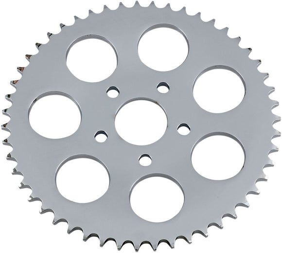 Drag Specialties Rear Chain Sprocket Dished 51T Steel/Chrome - Part #DS325341