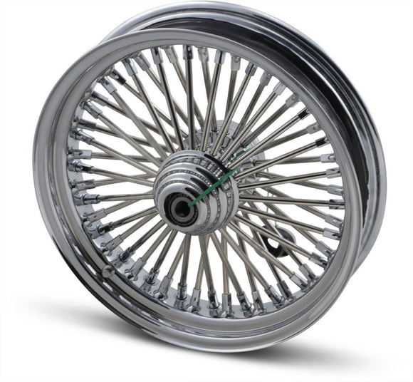 Drag Specialties Fat Daddy Front Wheel 16X3.5 Single-Disc Chrome - Part #02030244 - Hogparts UK