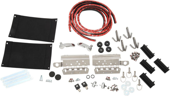 Drag Specialties Saddlebag/Lid Hardware Kit - Part #35011152 - Hogparts UK