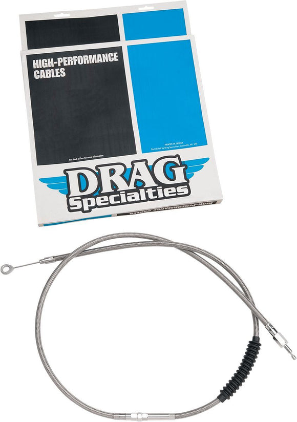 Drag Specialties Clutch Cable High Efficiency Stainless Steel 62 11/16