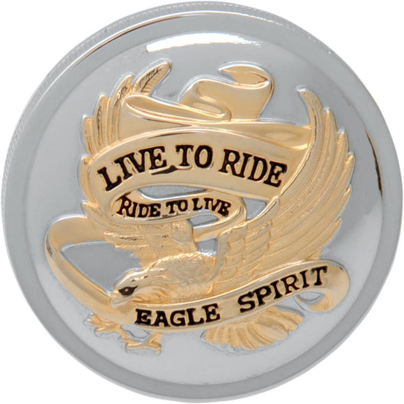 Drag Specialties Gas Cap Live-To-Ride 3