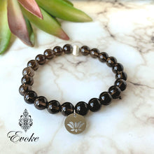 Emotion Balancing Smokey Quartz Bracelet - Evoke by Suhita