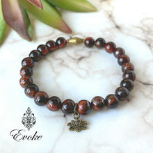 Motivating Red Tiger's Eye Bracelet - Evoke by Suhita