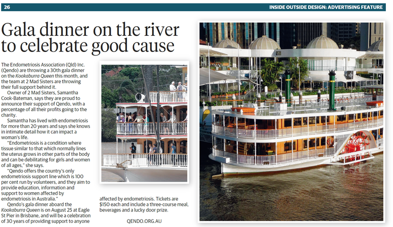 Gala dinner on the river to celebrate good cause