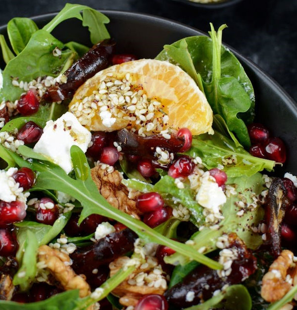 Baby Beetroot and Citrus Salad w/ Marinated Goats Cheese