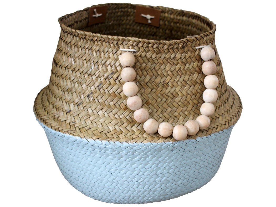 Belly Basket Sky/Beads