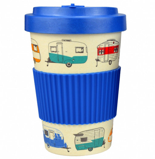 Bamboo Travel Mug 400ml - Blue