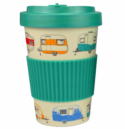 Bamboo Travel Mug 400ml - Green