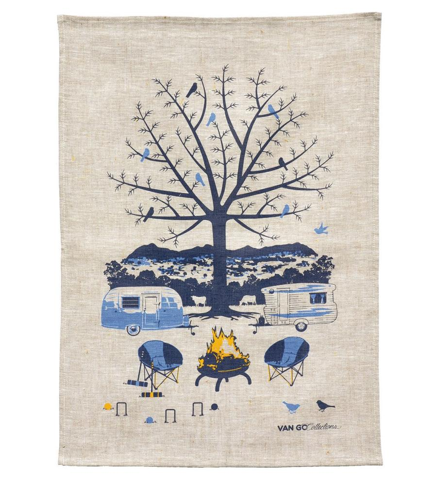 Tea Towel - Winter