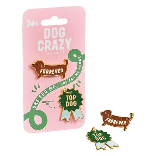 Pin & Tag Set- Dog