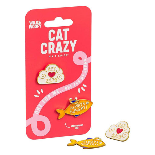 Pin & Tag Set- Cat