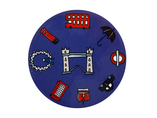 Megan McKean Cities Ceramic Coaster London