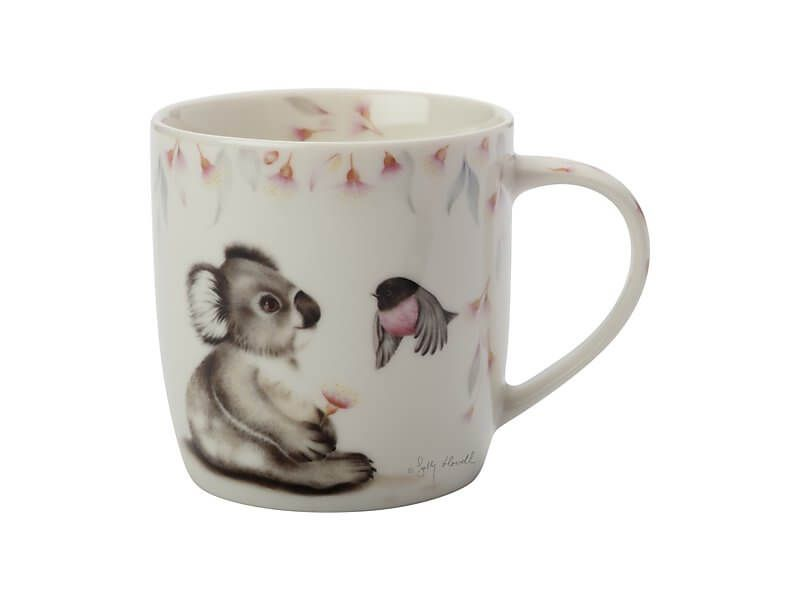 Sally Howell Mug 340ML Koala Robin