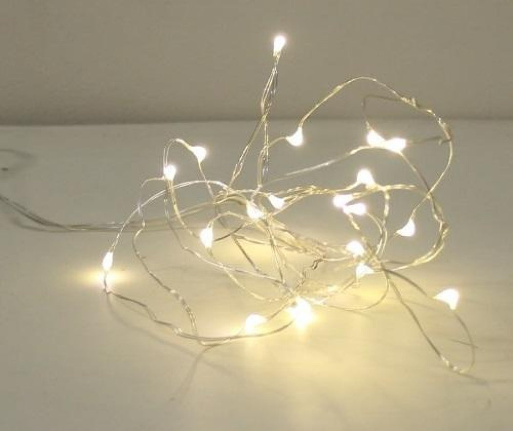 LED Rope Wire Lights Warm White 2m