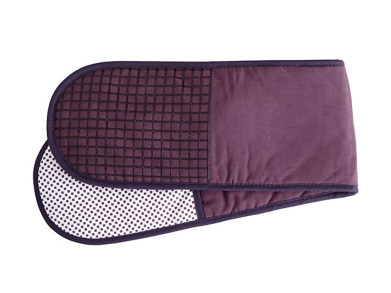 MW Epicurious Double Oven Mitt Aubergine