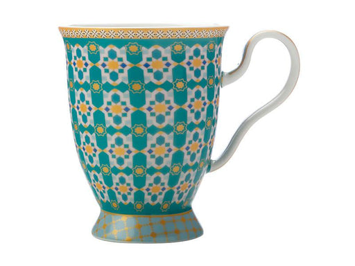 MW Teas & C's Kasbah Footed Mug 300ML Mint Gift Boxed
