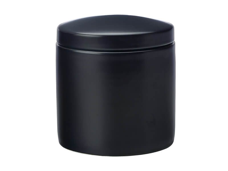 MW Epicurious Canister 1L Black Gift Boxed