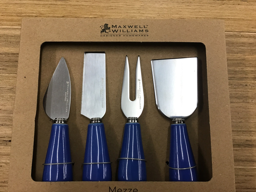 Mezze Cheese Knife Set of 4